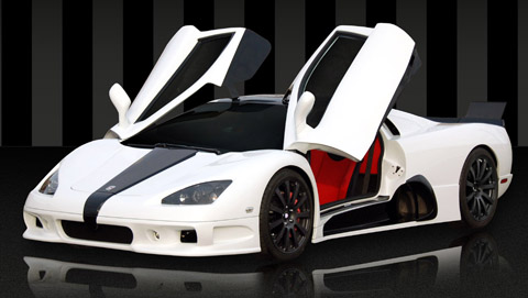 2009 SSC Ultimate Aero With Doors Open