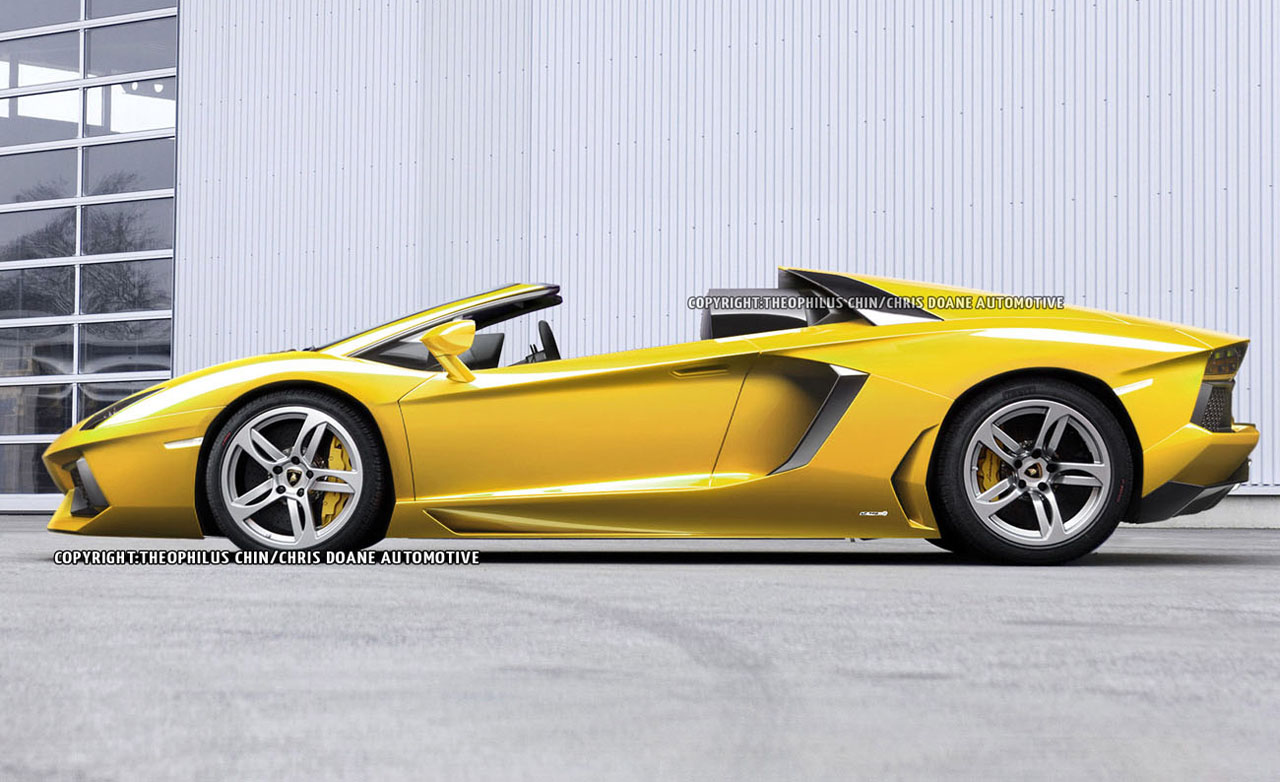 Lamborghini aventador roadster Super Car 17b