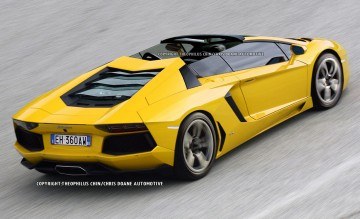 Lamborghini aventador roadster Super Car 17c