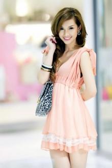 Hot girl Quỳnh Chi một vẻ đẹp rạng rỡ [part 1]