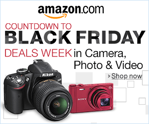 Countdown to Black Friday Deals Week in Camera, Photo & Video