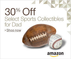 30% Off Select Sports Collectibles