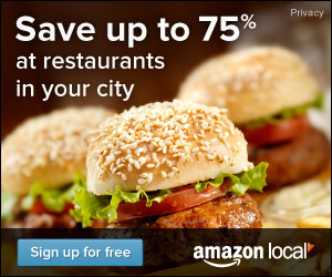 Save Up to 75% at Restaurants in your city