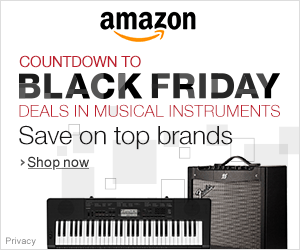Countdown to Black Friday Deals in Musical Instruments