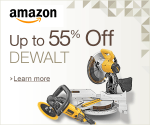 Amazon Up to 55% OFF Dewalt