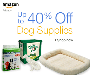 Up to 40% Off Dog Supplies