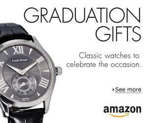Graduation Gifts: Classic watches to celebrate the occasion