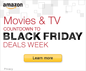 Countdown to Black Friday in Movies TV