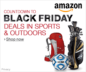 Countdown to Black Friday Deals in Sports & Outdoors