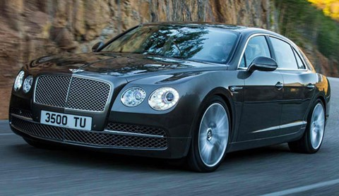 2013-Bentley-Flying-Spur-on-the-curves A