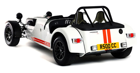 Caterham Superlight R500 back