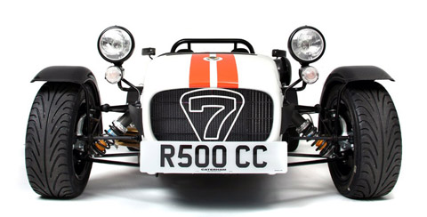 Caterham Superlight R500 back view