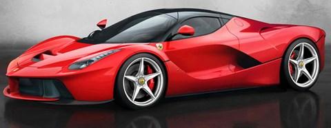 2013 Ferrari LaFerrari Parked A