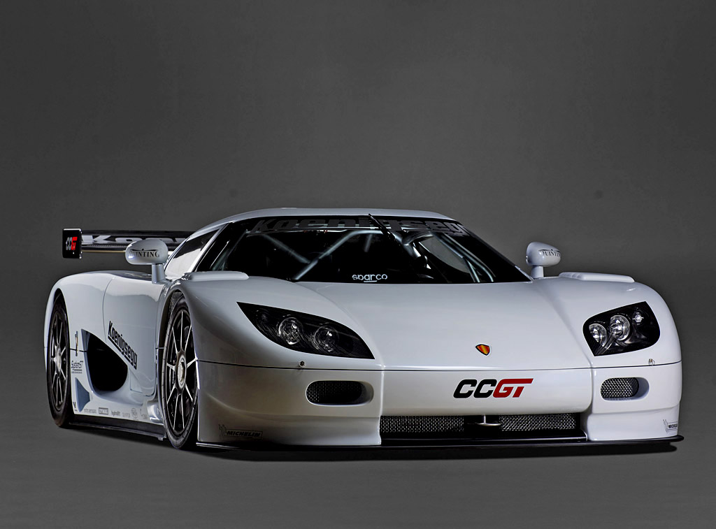 Koenigsegg CCGT Race Car