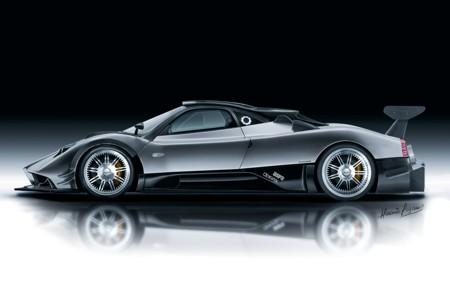 Exotic Car Pagani Zonda R