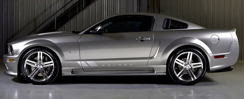 saleen mustangs s302e sterling edition side view