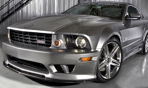 saleen mustangs s302e sterling edition front view