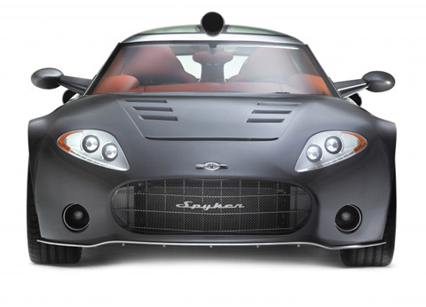 Spyker C8 Aileron Pictures & Review (2008)