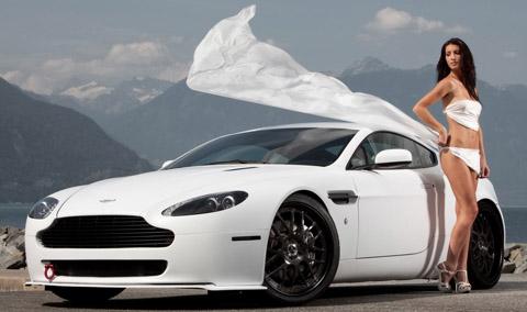 2009 Aston Martin Vantage Hellvellyn Frost